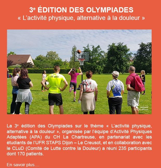 3e édition des Olympiades