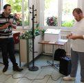 Farid Kohili (Directeur DSET – Direction des Services Economiques et Techniques) et Philippe Sire (Encadrement restauration)