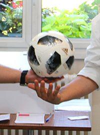 Concours sur la coupe du monde de football