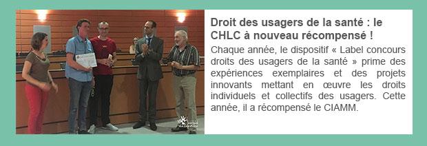Droit des usagers de la santé : le CH La Chartreuse à nouveau récompensé !