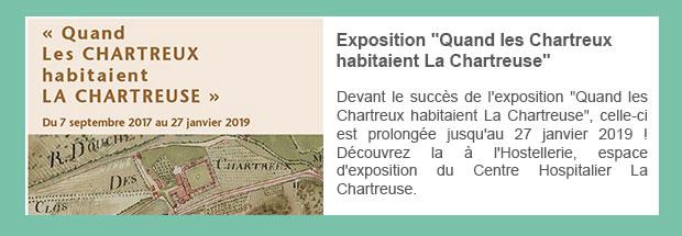 Exposition « Quand les Chartreux habitaient La Chartreuse »