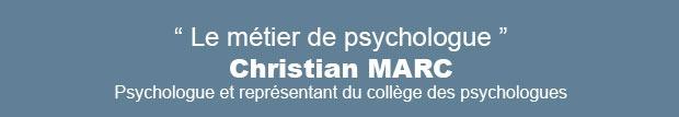 Le métier de psychologue