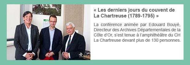 « Les derniers jours du couvent de La Chartreuse (1789-1795) »
