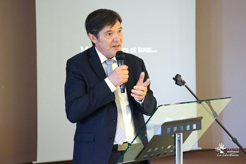 Bruno Madelpuech, directeur du CHLC Dijon
