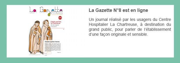 La Gazette N°8 est en ligne