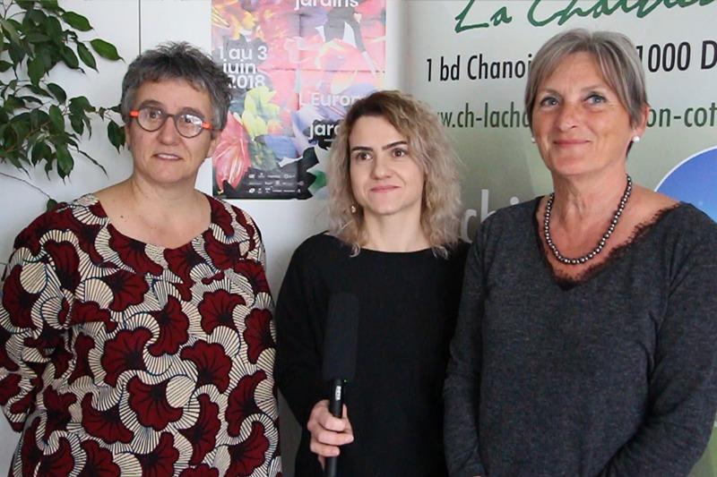 Claire DURANTE - Gaëlle DELORGE et Muriel CARILLON-GOUVERNET, art-thérapeutes