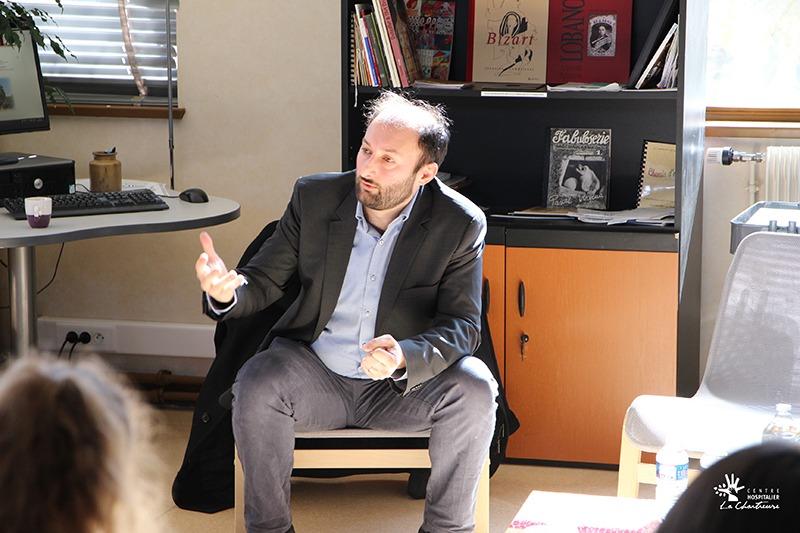 Dr Vincent MEILLE - Psychiatre au CHU de Dijon