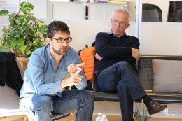 le Dr Clément Guillet (psychiatre) et Dr Jean-Claude Girod (psychiatre)