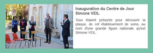 Inauguration du Centre de Jour Simone VEIL
