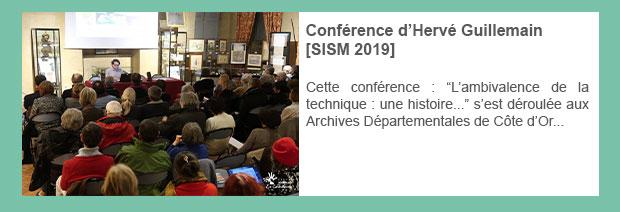 Conférence d'Hervé Guillemain [SISM 2019]