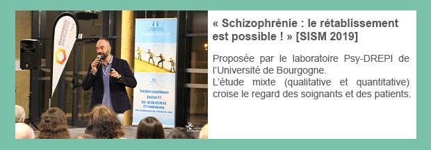 « Schizophrénie : le rétablissement est possible ! » [SISM 2019]