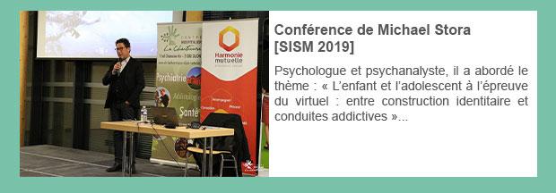 Conférence de Michael Stora [SISM 2019]