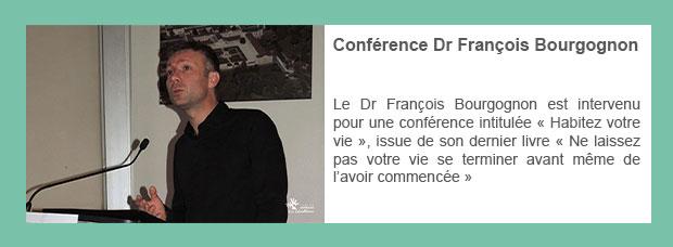 Conférence Dr François Bourgognon