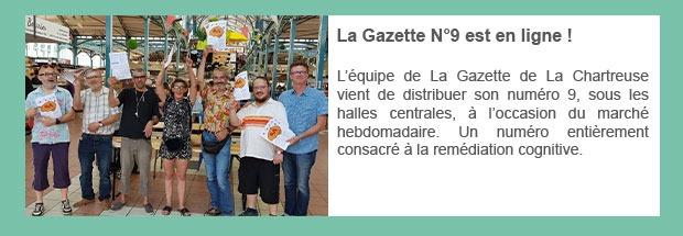 La Gazette N°9 est en ligne !