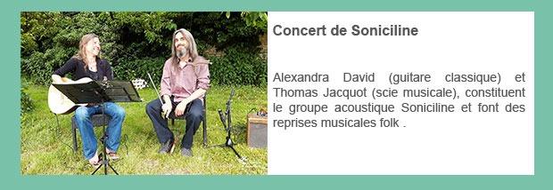 Concert de Soniciline