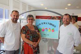 """Frédéric VOILQUE, Claire DURANTE et Philippe SIRE - Vernissage de l'exposition """"Gourmandises en compagnie"""""""