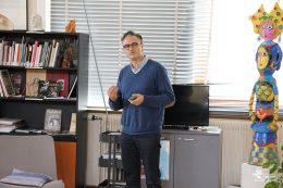Pr Jean-Christophe CHAUVET-GELINIER, psychiatre et chef du Service de Psychiatrie Adulte, CHU Dijon