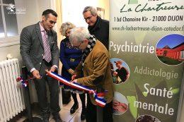 Inauguration du dispositif INTERMEDE au CHLC Dijon